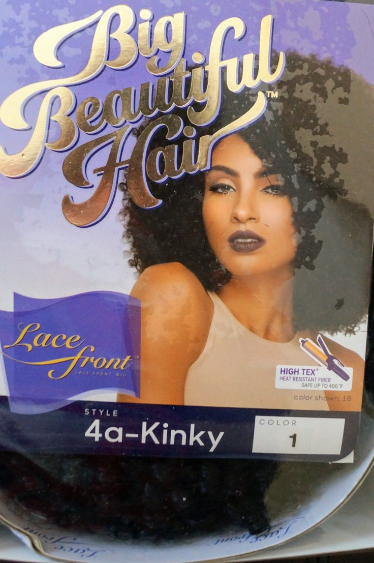 Outre Synthetic Lace Front Wig Big Beautiful Hair 4A - Kinky